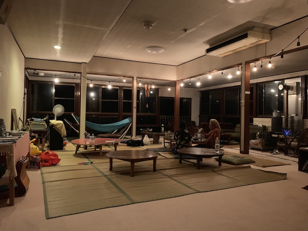 新潟県のゲストハウス山楽