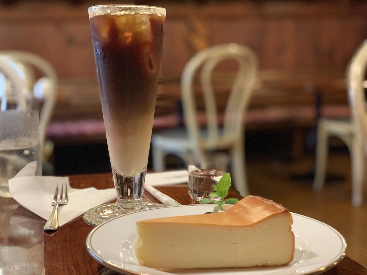 会津の喫茶店