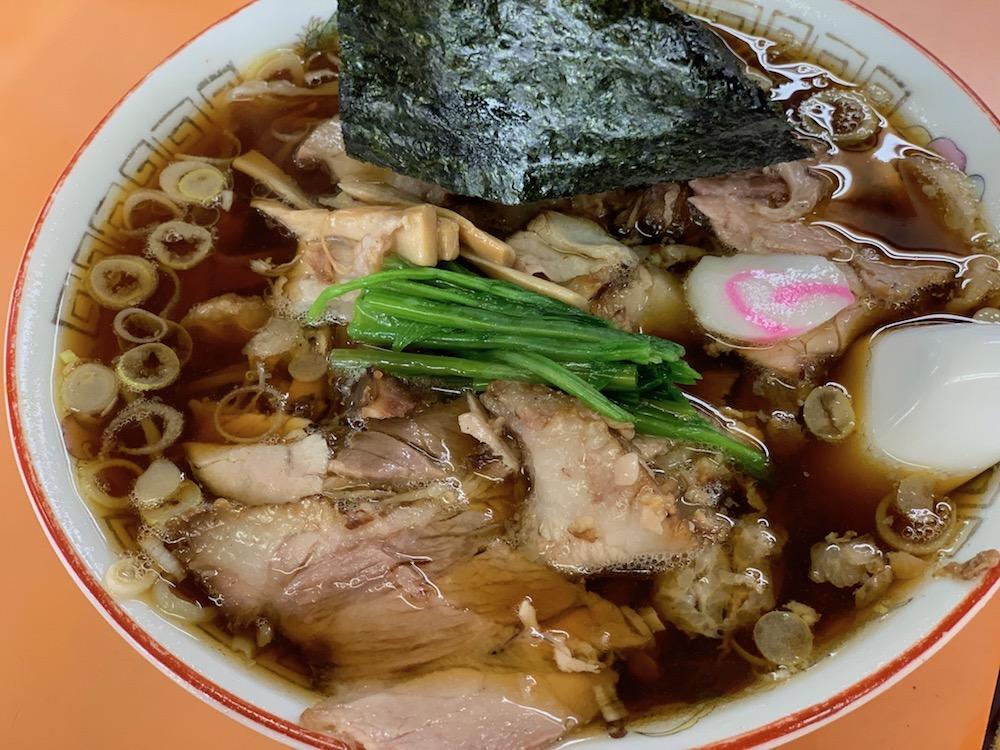 青島食堂の長岡ラーメン
