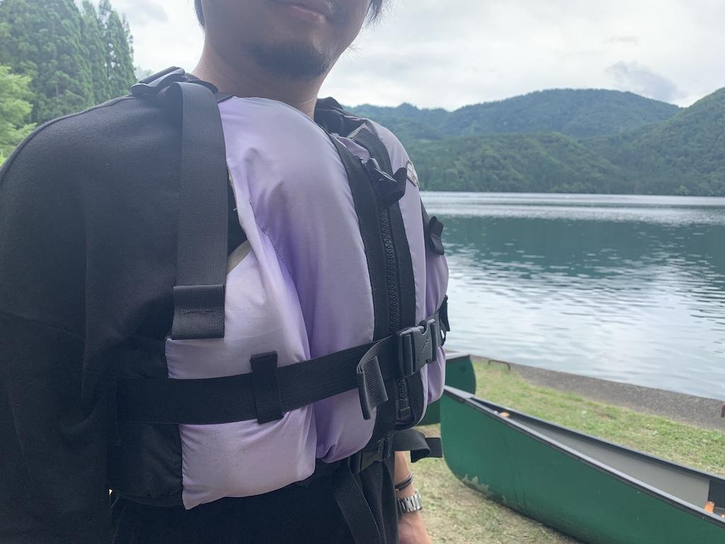 沼沢湖カヌー