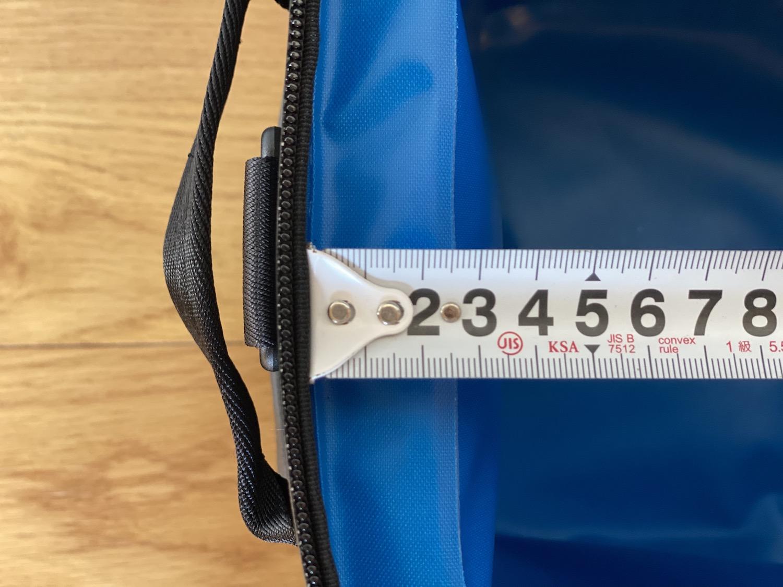 厚みのある断熱材で、1日程度なら安心の保冷機能!