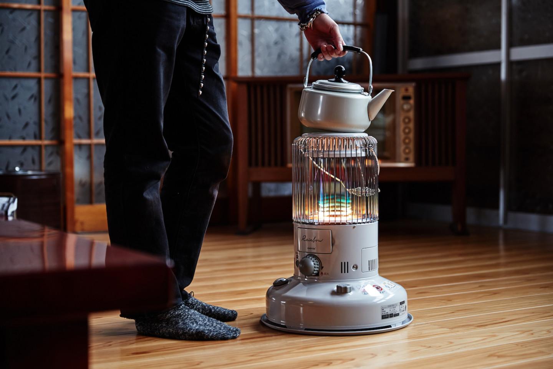 灯油を燃料とする暖房