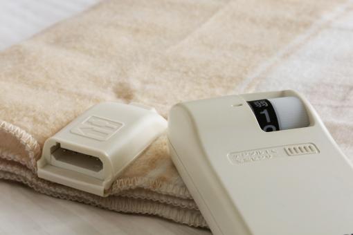 布団に入る時に幸せ絶頂の「電気毛布」。