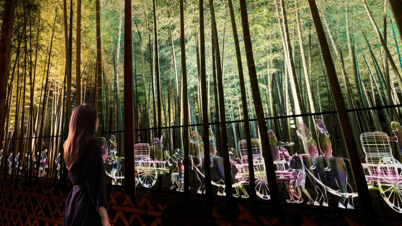 チームラボが日本三大名園・偕楽園に。