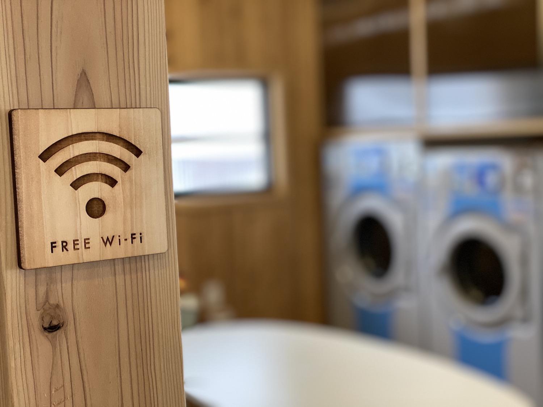 Wi-Fi環境も完備されているから、合間のお仕事や動画配信サービスだって利用できちゃう!
