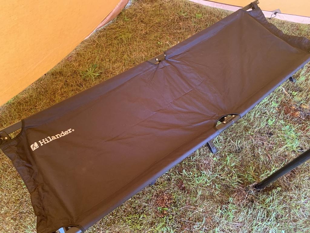 キャンプの寝具