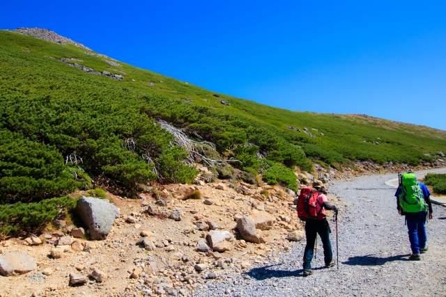 バメリットその② 山を登るペース配分を調整してくれる。